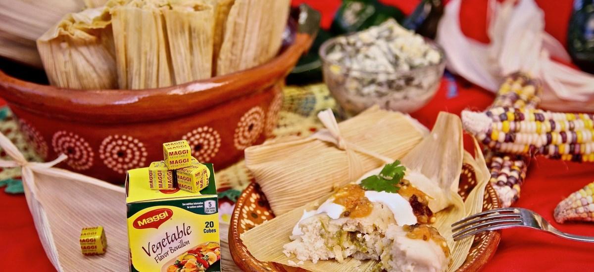 Rajas and Cheese Tamales