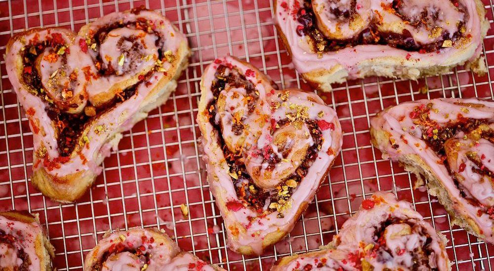 Cinnamon Roll Hearts Of Love