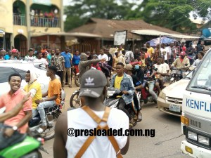 #Endsars: Photos from agbor protest