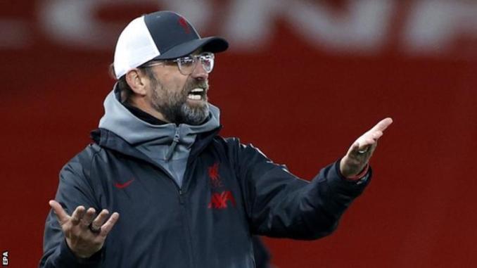 Jurgen Klopp critical of Premier League executives over lack of vote on five subs