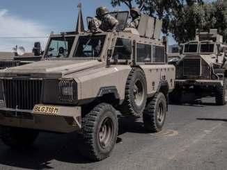 SANDF starts lockdown patrols in Western Cape