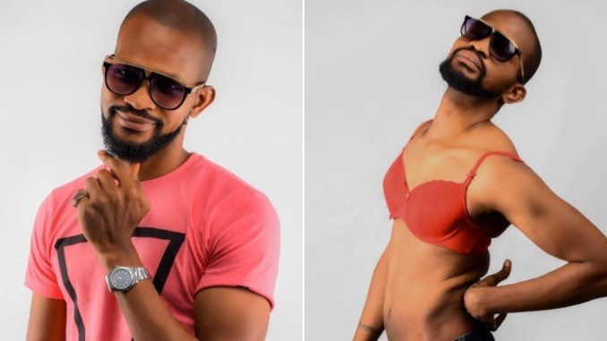 Uche Maduagwu shares raunchy photo after coming out as gay