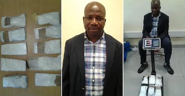 NDLEA Arrests Top Nigerian Politician With Cocaine