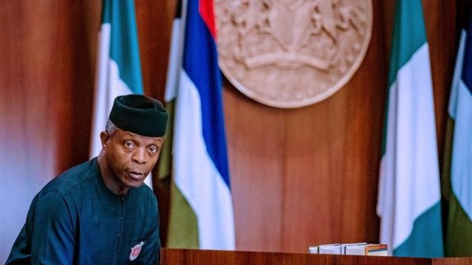 Tension As Osinbajo Is Sighted At Hospital