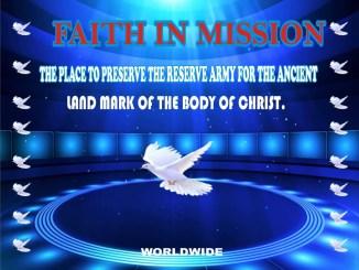 FAITH IN MISSION WORLDWIDE
