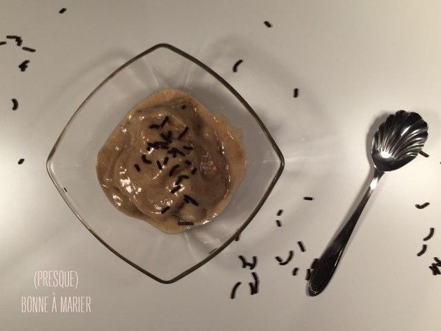 Crème glacée praliné express