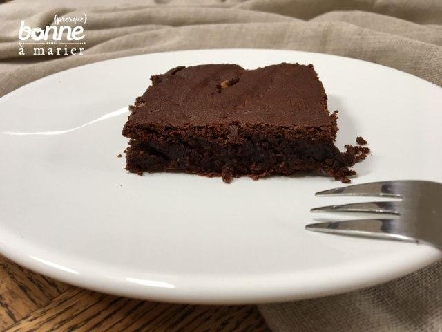 Brownies faciles chocolat noix