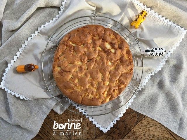 Gâteau aux pommes dès 18 mois
