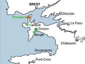 CHAMBRES DHOTES En Presqule De CROZON Finistre 29