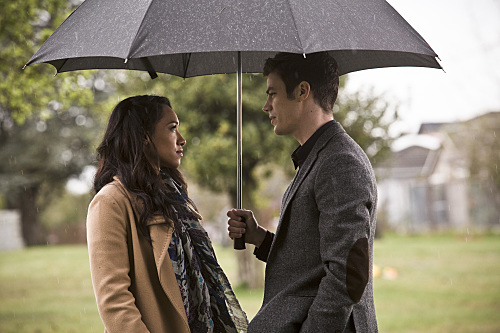Iris West and Barry Allen