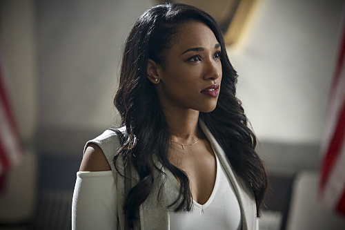 Candice Patton as Iris West