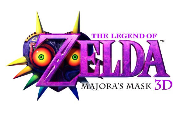 The Legend of Zelda Majora's Mask Logo