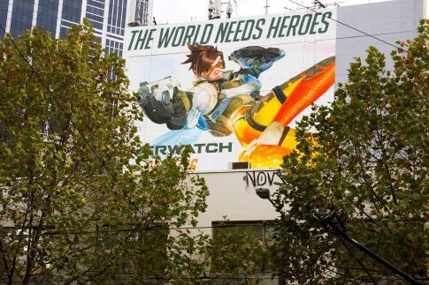 Overwatch Melbourne Mural