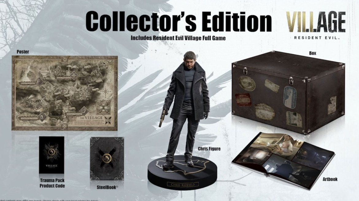 Here's The Resident Evil Village Collector's Edition