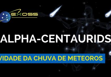Atividade da Chuva de Meteoros Alpha-Centaurids