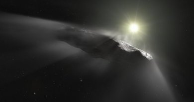 Asteroide interestelar Oumuamua é na verdade um cometa