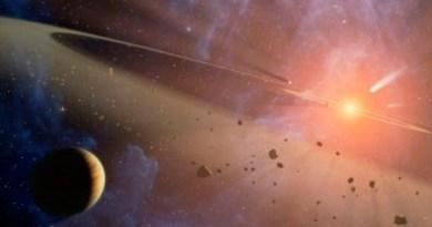4 famílias de asteroides extremamente jovens são identificadas
