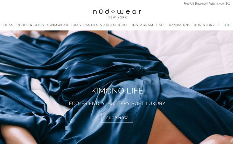 Nudwear is Disrupting the Loungewear Market with Eco-friendly Designs for the Independent Woman on the Go