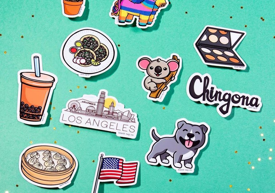 The Story of Blank Tag Co. – The Startup Lighting Up The World One Sticker at A Time