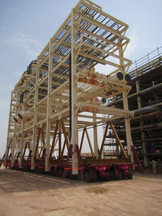 ale progress with sarb4 project in uae