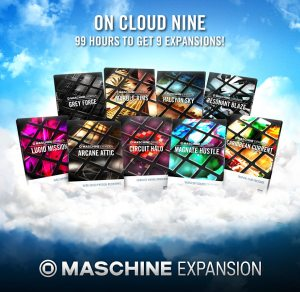 NI_Cloud_Nine_Maschine_Expansions_Sales_Special