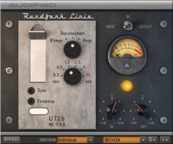 Audified announces availability of old German broadcast compressor/limiter-emulating plug-in
