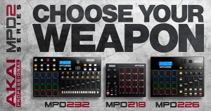 Akai Professional Introduces new MPD Series of Pad Controller