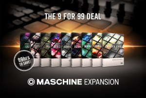 Native Instruments announces 'The 9 for 99 Deal' – a limited time offer on MASCHINE Expansions