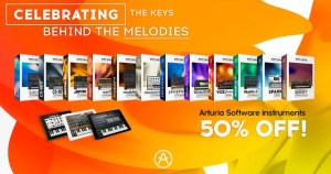 Arturia concludes 'Celebrating The Keys Behind The Melodies' promo pricing on iPad apps musical high