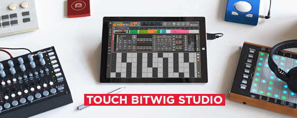 touch bitwig 1.3