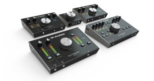 M-AUDIO raises recording quality & convenience with new M-Track series