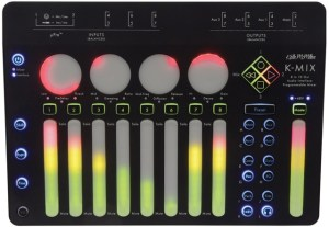 Keith McMillen Instruments innovates audio interface and programmable mixer design with K-MIX release