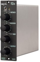 SPL ships DeS Dual Band De-Esser and TDx Transient Designer 500-Series modules