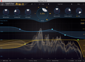FabFilter releases FabFilter Pro-R reverb plug-in