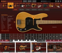 @IKMultimedia Releases MODO BASS – The breakthrough physically modeled electric bass