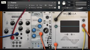 Cinematique Instruments Releases Mociula Modular Synth Bundle for Kontakt