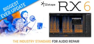 iZotope release RX 6