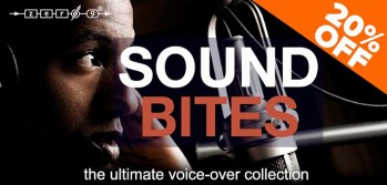 Zero-G release Sound Bites – The Ultimate Voice-Over Collection