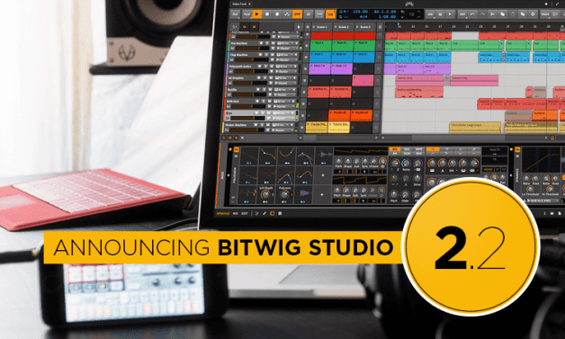 Bitwig Studio 2.2 is here with new features and sound content