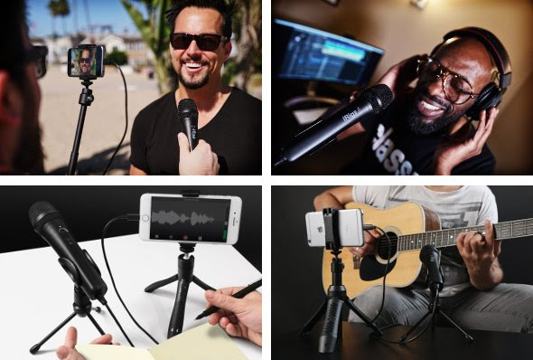 iRig Mic HD 2 high-definition digital microphone is now available