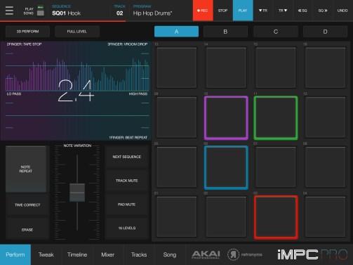 Akai Professional Releases iMPC Pro 2