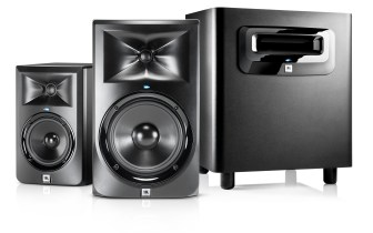 HARMAN Professional Solutions Unveils JBL 3 Series MkII Powered Studio Monitors