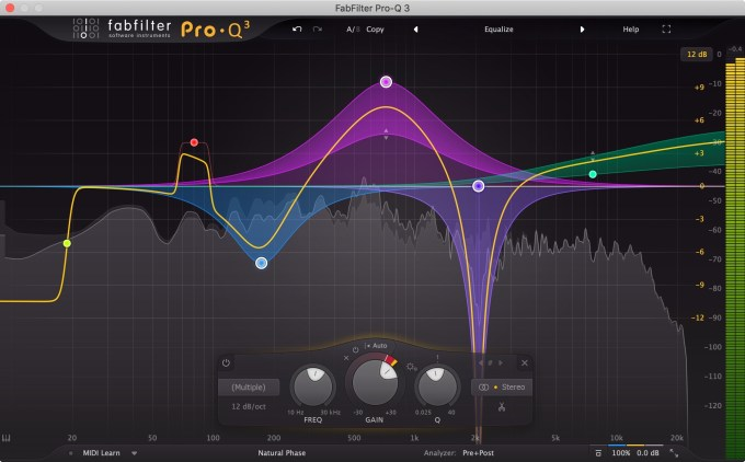 FabFilter releases FabFilter Pro-Q 3 equalizer plug-in with