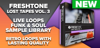Freshtone release Lost Tapes Vol 3