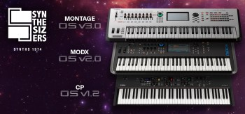 Yamaha Synthesizers Launches Major OS Updates for MONTAGE, MODX and CP Stage Piano