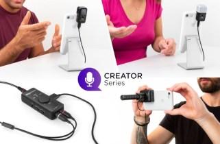 IK Multimedia announces three pro-quality iRig mics and iRig Stream stereo audio interface