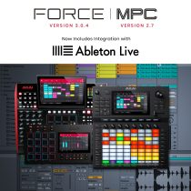 AKAI Professional Announces Ableton Live Integration for MPC & Force