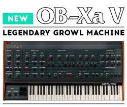 Arturia announce launch of OB-Xa V