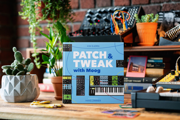 Creators of PATCH & TWEAK Team up with Moog Music for New 200-Page Book on Semi-Modular Analog Synthesizers