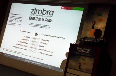 zimbra open source - Open Source Conference14 Milano